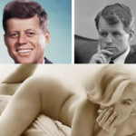 Marilyn Monroe threeway sex tape with John and Robert Kennedy